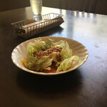 Ristorante めぐみ - 料理写真:ミートソースサラダ