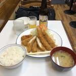 キッチンアオキ - ③ミックスフライ