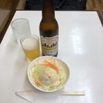 キッチンアオキ - ③祝・アルコール解禁:ポテトサラダ