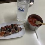 とくのや - 料理写真:カシラやきとり150円