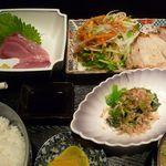 しげとみ - 料理写真:豚ロース塩こうじ(2012/11/19撮影)