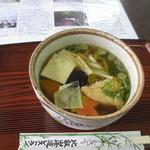 比叡山峰道レストラン - 比叡うどん(850円)