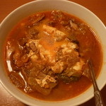 焼肉冷麺明月館 - カルビクッパ 大辛