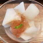 農家厨房 - デザートの梨