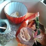 スカイツリー ビュー レストラン&バー 簾 - 一の重・山海八寸盛り合わせ
