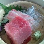 スカイツリー ビュー レストラン&バー 簾 - 三の重・鮮魚盛り合わせ