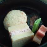 スカイツリー ビュー レストラン&バー 簾 - 二の重・煮合わせ