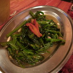 アジアン食堂グリドルズ - 空心菜の炒め物