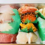 ひら田 - 料理写真:上にぎり 1600円