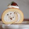 キッサ マシマロ - 料理写真:2021年10月再訪:マロンクリームのロールケーキ☆