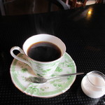 ウォールデン - ちょっと時間に余裕があったんで150円追加してホットコーヒをいただきゆっくりさせていただきました。