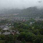 15938839 - ラウンジからの眺め。雨と雲を眺めながら…