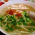 大肚魚飯店 - 湯麺のスープでした