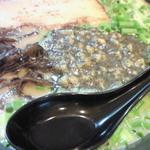桃原 - 豚骨らーめん 細麺