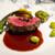 キノシタ - 料理写真:2021.10 蝦夷鹿ロース肉のロースト 赤ワインソース