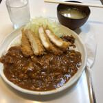 キッチンアオキ - ②イカフライハヤシ
