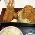 キッチンアオキ - ③洋食弁当のアップ1