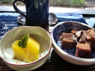 古民家で昼ごはん梅里 - スイーツとコーヒー