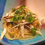 セルサルサーレ - 松茸のパスタ