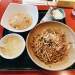 159409469 - 冷やし坦々麺セット 950円