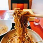 159409473 - 冷やし坦々麺 麺リフト