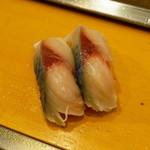 栄寿司 - 2012.11 さば(1貫100円)