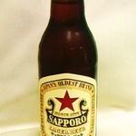 福来屋酒店 - 現存する日本最古のビール サッポロラガー大瓶400円