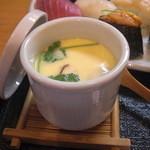 15942112 - 茶碗蒸し。