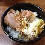 勇成ラーメン - Aセットミニ焼き豚丼