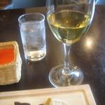 カーサディアレクリア - グラスワイン白