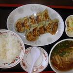 15942641 - 「ぎょうざ・らーめん定食」¥880