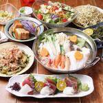 酒菜 一兆 - 琉球鍋付のコース