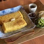 茶匠 清水一芳園 - 料理写真:サムライ×フレンチトースト