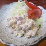 丸千葉 - 定番のホッキサラダ。
