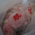 ㈲佐藤菓子店 - 農協祭でもらった餅