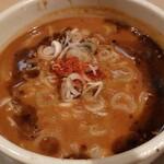 創作らーめん style林 - 肉まみれ味噌つけ麺+味タマ(200㌘)♪