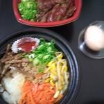 カルビ丼とスン豆腐専門店 韓丼 - 料理写真:ビビンバ
