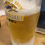 長田本庄軒 - 生ビール