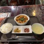 159442787 - ランチメニューの麻婆豆腐('21/10/06)