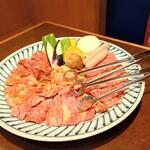 朝鮮飯店 - 料理写真:Aペアミックス