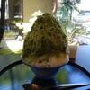 茶匠丸玉園 - 料理写真:静岡抹茶かき氷
