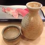 15947500 - お寿司にはやっぱり日本酒(=´∀`)人(´∀`=)