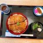 大井川のうなぎ 秀丸 - 料理写真:共水うなぎ丼
