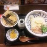 饂飩工房 うばら - 2012.11.20  ミニ天丼定食