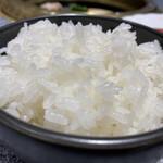 肉の割烹 田村 - お米