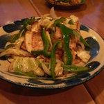 沖縄家庭料理 琉球村 - トーフチャンプルー