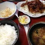 15950159 - 焼肉定食