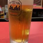 長安 - 生ビール