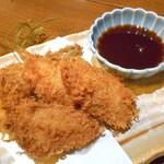 旬菜 籐や - 新生姜豚ばら巻きフライ