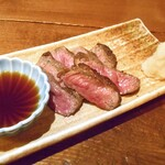 旬菜 籐や - 牛ヒレ炙りステーキ